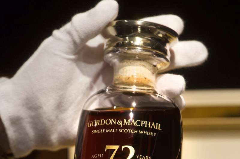 72-year-old Scotch whisky fetches over $54,000 in auction