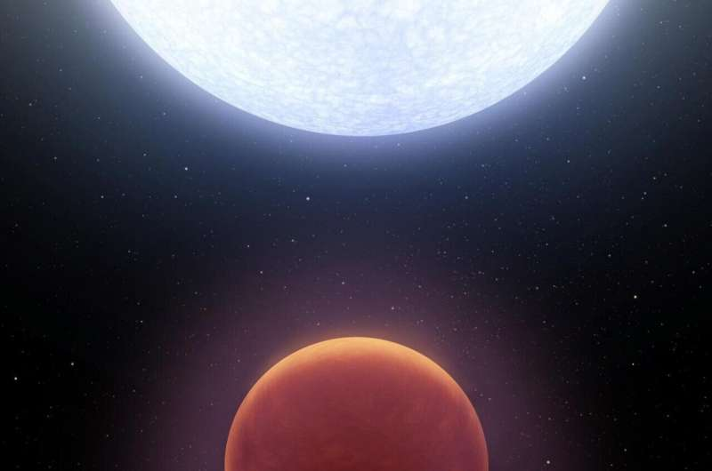 A giant, sizzling planet may be orbiting the star Vega