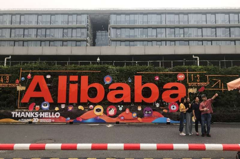 Alibaba has come under pressure from Chinese authorites in recent months as they crack down on the country's huge technology sec