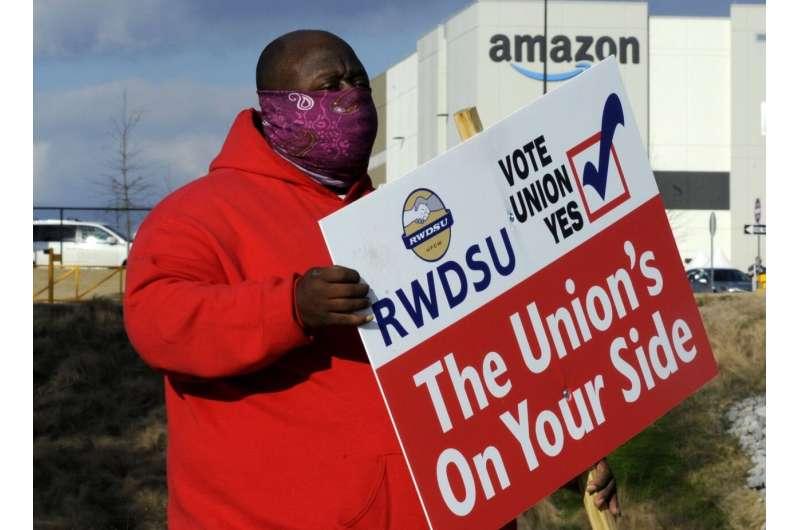 Amazon menghadapi dorongan serikat pekerja terbesar dalam sejarahnya
