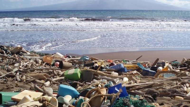 Are plastics and microplastics in the Ocean on the increase?