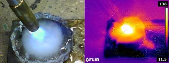 A robot made of ice could adapt and repair itself on other worlds