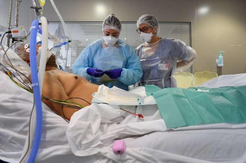 A study finding a drop in ICU coronavirus mortality by last October said hospitals have much more knowledge about what works to