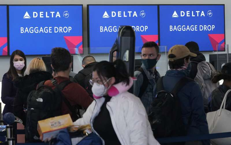 Delta Air Lines to leave middle seats empty through April