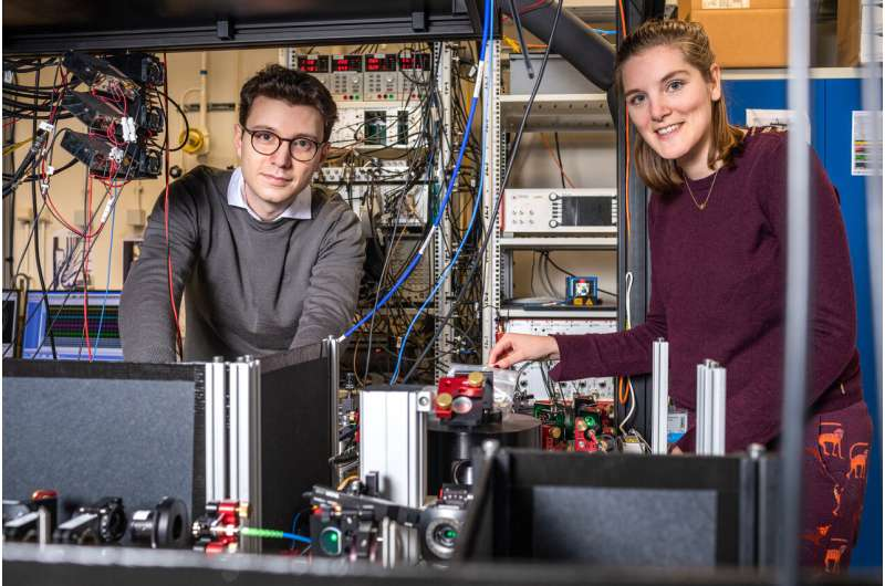 Dutch researchers establish the first entanglement-based quantum network