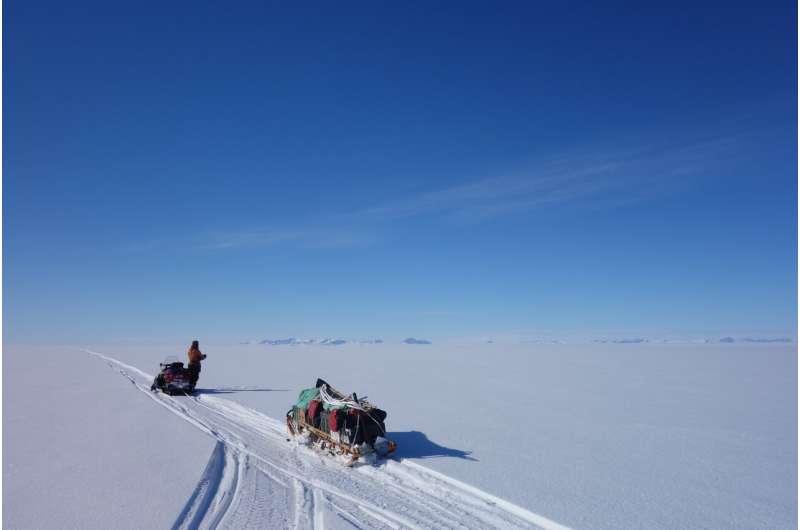 تأكيد الدليل على نقطة تحول الأنهار الجليدية في القطب الجنوبي للمرة الأولى