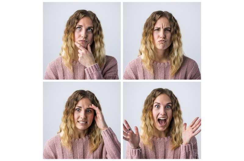 Facial recognition ID with a twist: Smiles, winks and other facial movements for access