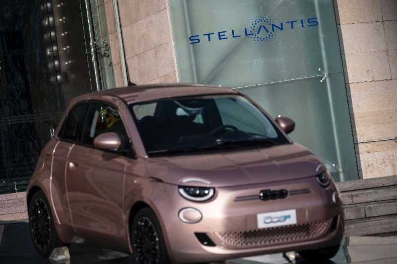Fiat's Prima 500 electric car