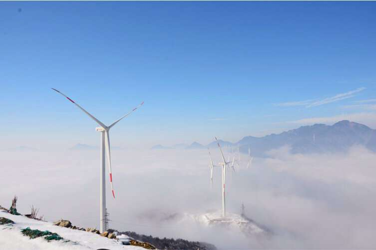 Field study shows icing can cost wind turbines up to 80% of power production