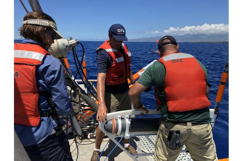 First images of freshwater plumes at sea