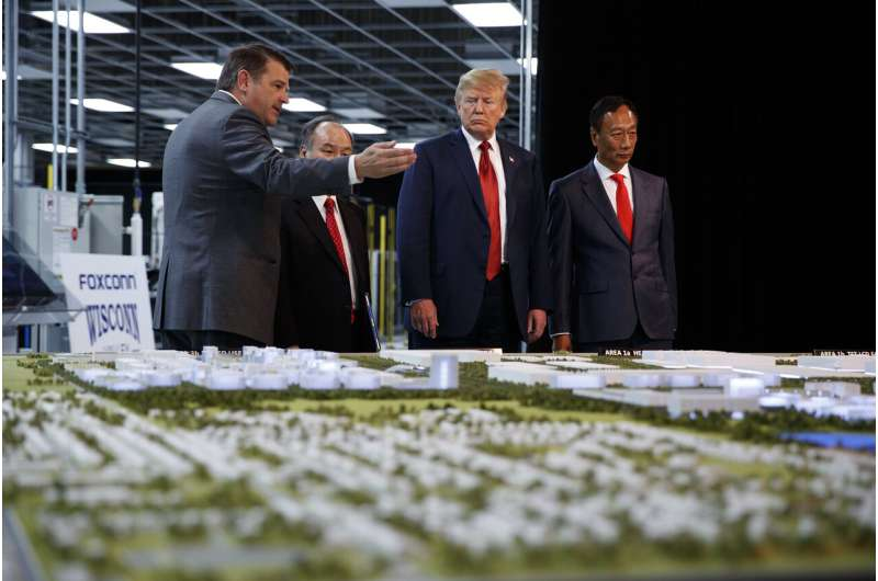 Foxconn, Wisconsin reach new deal on scaled back facility