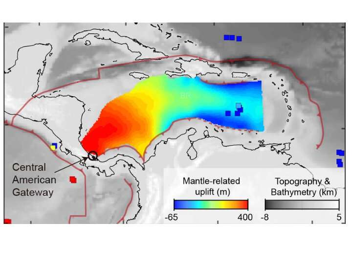 Geologists discover powerful 'river of rocks' below Caribbean