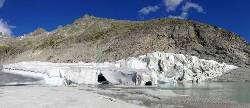 Geotextiles could slow glacial melt, but at what cost?