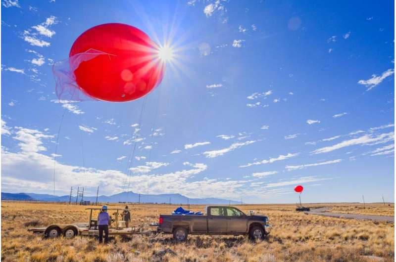 Here comes the sun: Tethered-balloon tests ensure safety of new solar-power technology