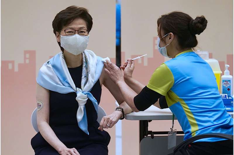 Hong Kong vaccination drive struggles to gain public trust