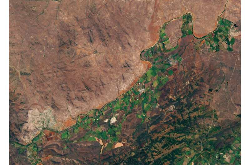 How ESA helps South Africa share water fairly