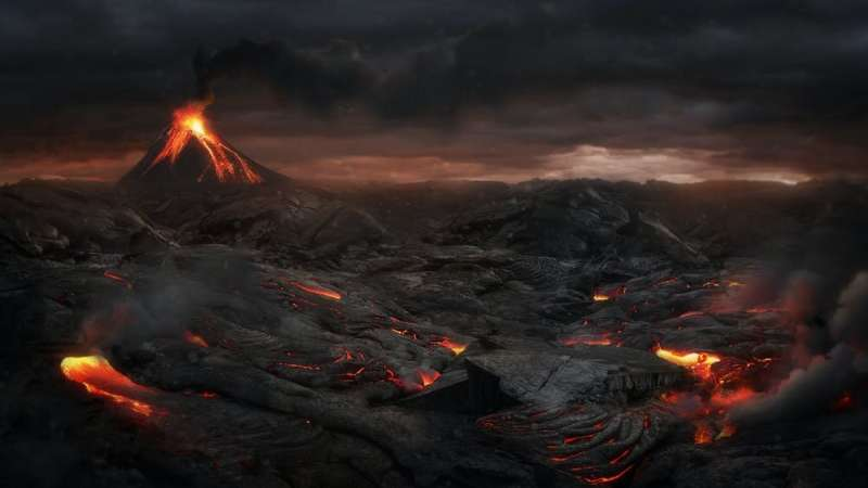 Huge volcanic eruption didn't cause climate change and mass extinction 140 million years ago