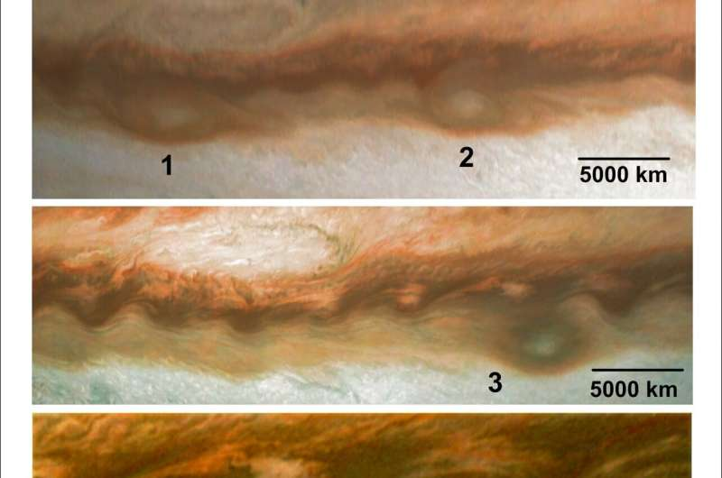 Jupiter's Great Red Spot feeds on smaller storms