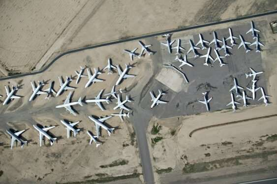 Long-term storage of aircraft is not a big risk to safety