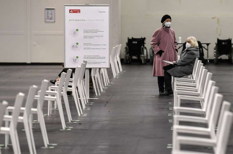 Merkel says German vaccine centers will be full by April