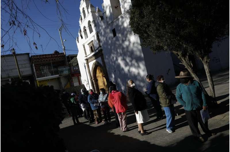 Mexico begins vaccinating seniors against COVID-19