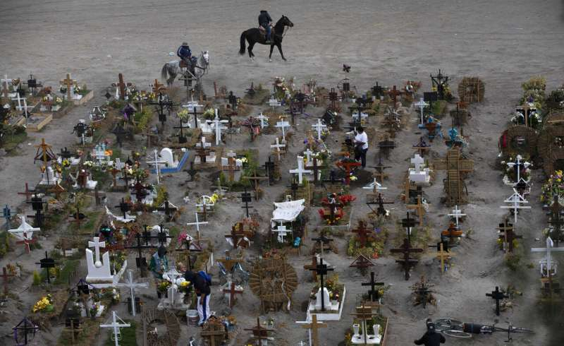 Mexico's real COVID-19 death toll now stands at over 321,000