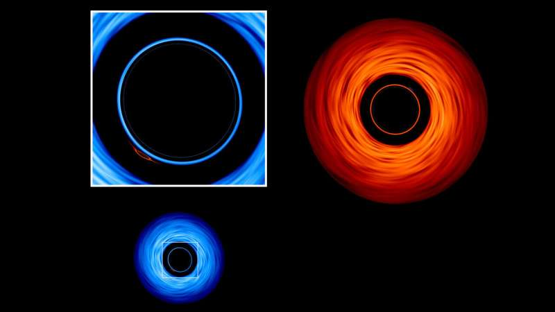 New NASA visualization probes the light-bending dance of binary black holes