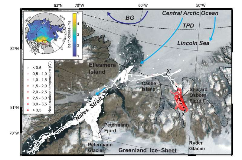 New study: Thick sea-ice warms Greenland fjords
