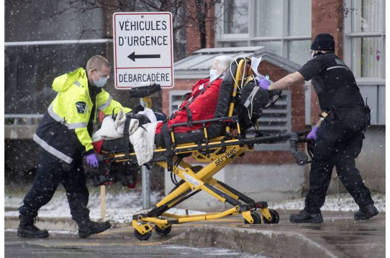 Nightly curfew for pandemic takes effect across Quebec