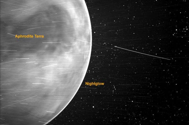 Parker Solar Probe offers stunning view of Venus