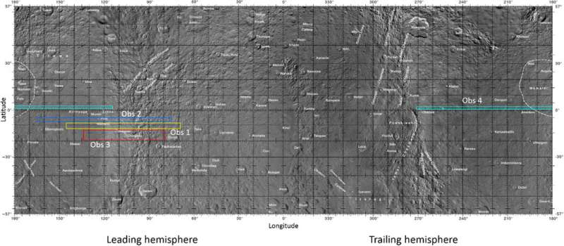 Possible detection of hydrazine on Saturn's moon Rhea