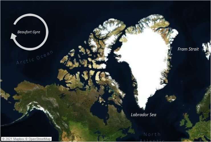 Record-high Arctic freshwater will flow to Labrador Sea, affecting local and global oceans