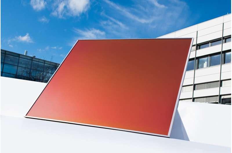 Teknologi surya dengan keindahan sayap kupu-kupu