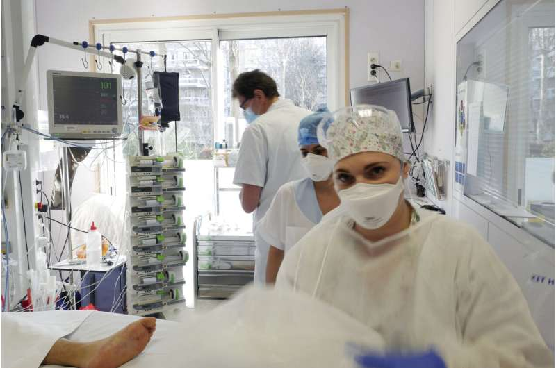 Some medical workers unsure about France's partial lockdown