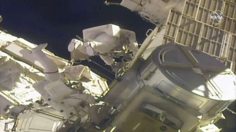 Spacewalkers complete 4 years of power upgrades for station