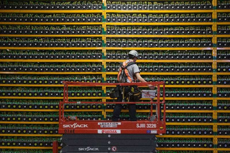 Total energy consumed by the bitcoin mining process could reach 128 TWh (terawatt-hours) this year, or more than the entire cons