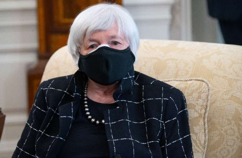 US Treasury Secretary Janet Yellen said she will push G20 nations to adopt a global minimum tax, giving the issue momentum