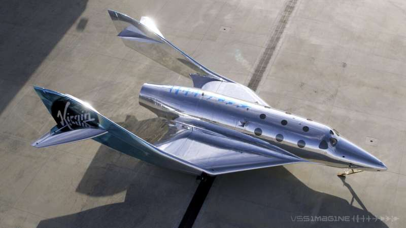Virgin Galactic rolls out latest generation of spaceship