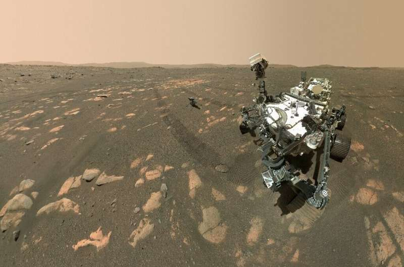 NASA's Perseverance rover has converted some carbon dioxide from the Martian atmosphere into oxygen, the first time this has hap