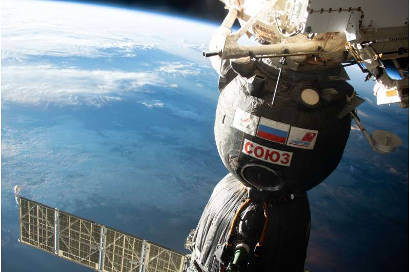 Space station crew to relocate Soyuz to make room for new crewmates