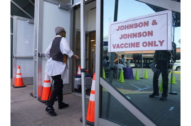 US recommends 'pause' for J&J shots in blow to vaccine drive