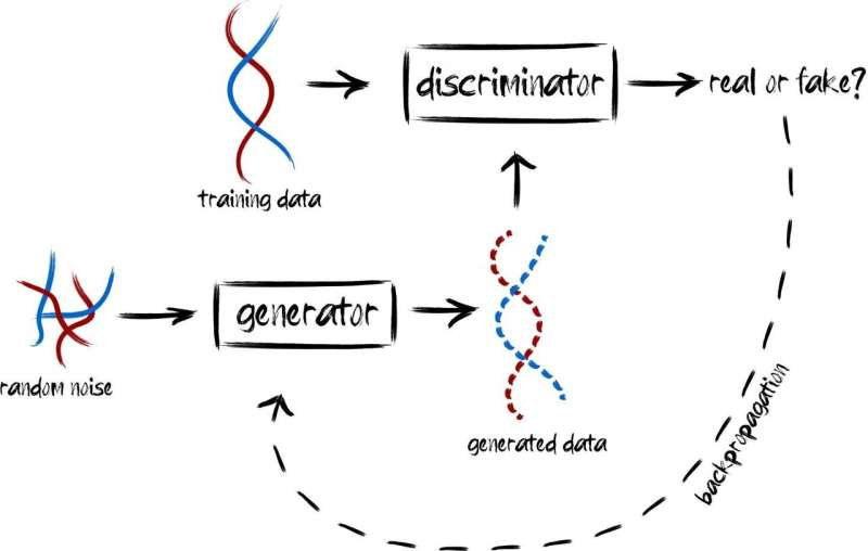 Machine learning generates realistic genomes for imaginary humans