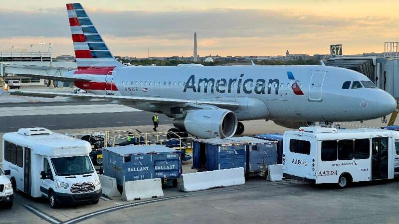 American Airlines reported another quarterly loss but said bookings from leisure travelers are increasing as vaccines become mor
