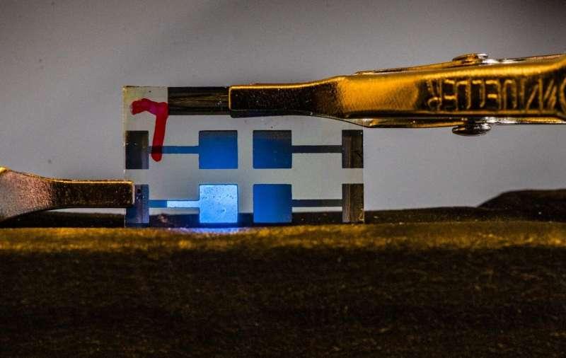 Blue-light stride in perovskite-based LEDs