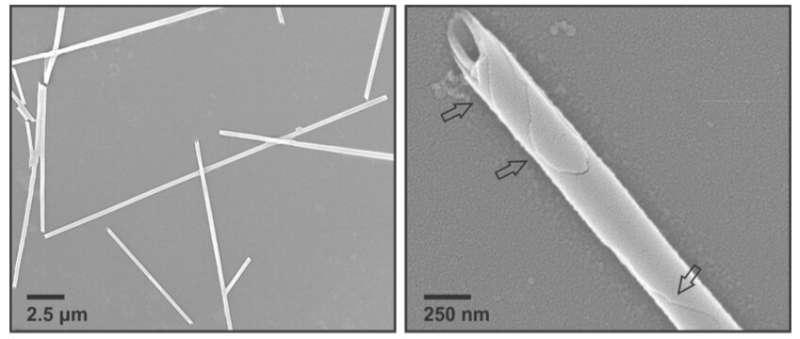 Chemists invent shape-shifting nanomaterial