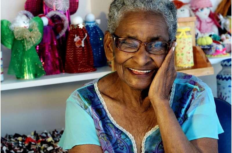 elderly black