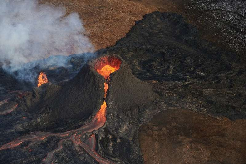 Experts say the volcano's location in a an uninhabited natural basin means a lengthy eruption poses no significant danger