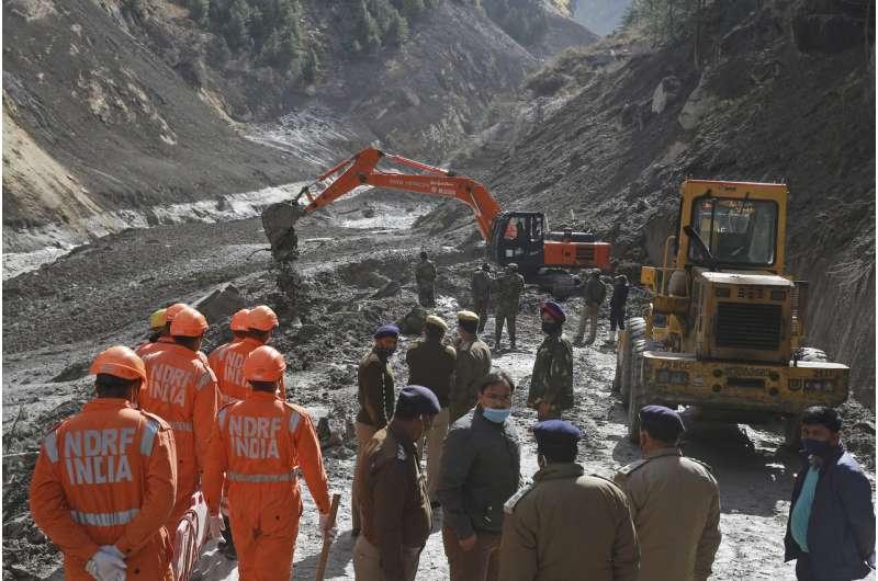 Himalayan glacier disaster highlights climate change risks