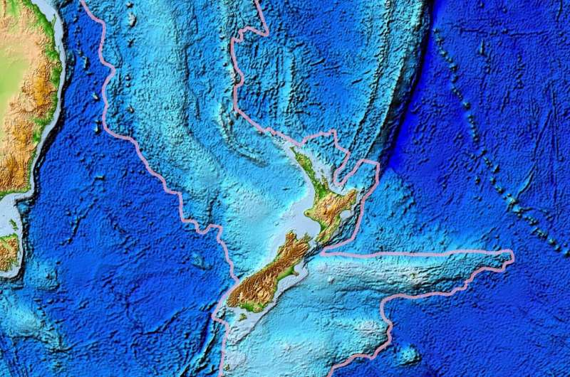 Mapping the 'hidden' eighth continent Zealandia