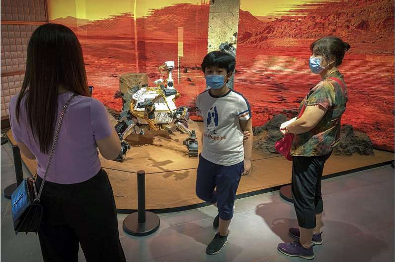 Mars mission inspires growing fan base back in China